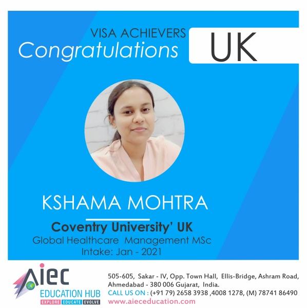 6 Kshama UK VISA
